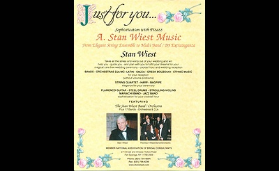 Stan Wiest Music - Woodbury Country Club Bridal Showcase