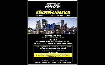 Skate for Boston Memorial Day Tournament