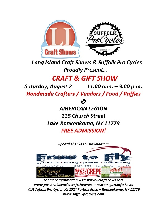 Craft gift show for Craft fairs long island