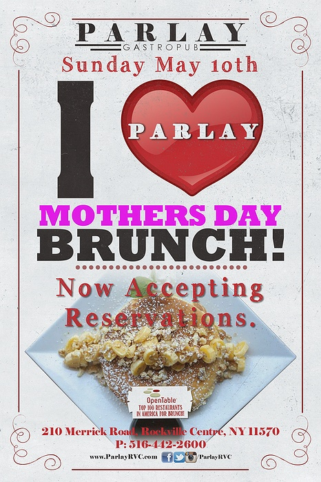 Splurge-Worthy Mother's Day Brunch Buffets May 2, May 2, Mother's Day one of the most popular–and for restaurants, profitable–brunch dates on the calendar, Long Island provides ample opportunities to get your egg on.