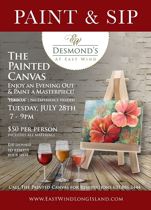 paint sip at east wind long island