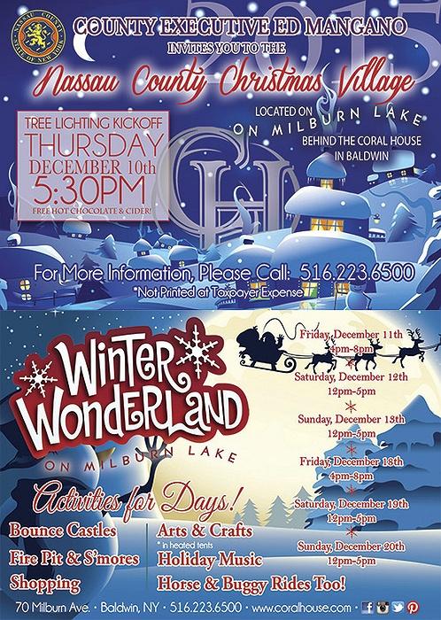 Nassau County Christmas Village