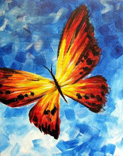 Best Acrylic Paintings Of Butterflies