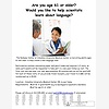 Paid Research Study - Age