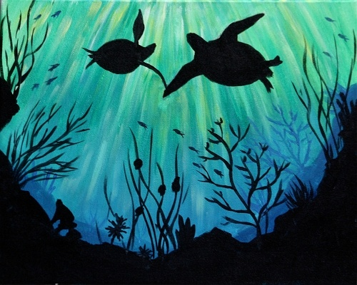 Paint Nite: Sea of Love III
