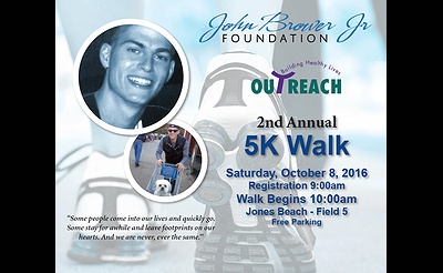 2nd Annual Outreach John Brower, Jr. Foundation 5K Walk