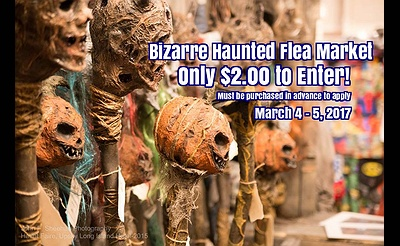 Bizarre Haunted Flea Market