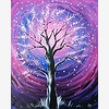 Paint Nite: Purple Wind