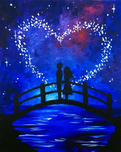 Paint Nite: Love In The Stars