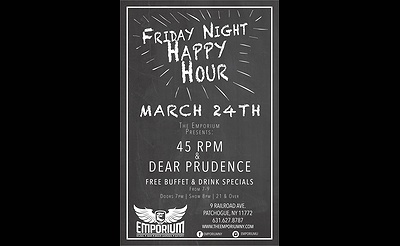 45 RPM & Dear Prudence at The Emporium