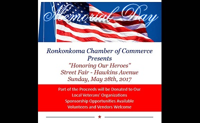 "Ronkonkoma's ""Honoring Our Heroes"" Street Fair"
