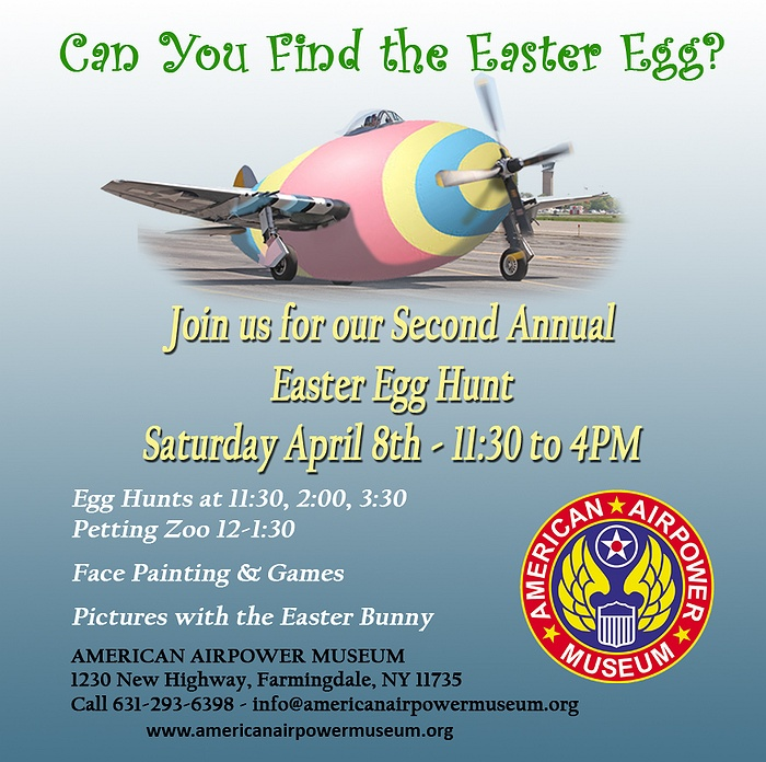 American Airpower Museum 2nd Annual Easter Egg Hunt
