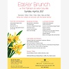 Easter Brunch at The Mans