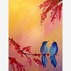 Paint Nite: Bluebirds In