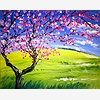 Paint Nite: Spring Cherry