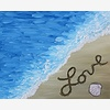 Paint Nite: Sand, Love, a