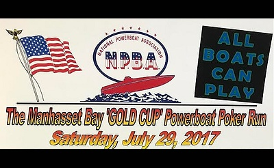 Manhasset Bay 'Gold Cup' Powerboat Poker Run