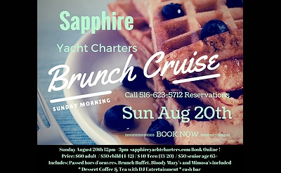 Sunday Brunch Cruise on the Sapphire Princess