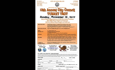 13th Annual Long Beach City Council Turkey Trot
