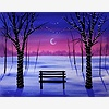 Paint Nite: Winter Tree L