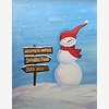 Paint Nite: Snowman and S