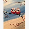 Paint Nite: Frosty Hooter