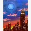 Paint Nite: Blue Moon Ove