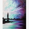 Paint Nite: Galaxy Lighth