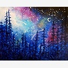 Paint Nite: Galaxy In The