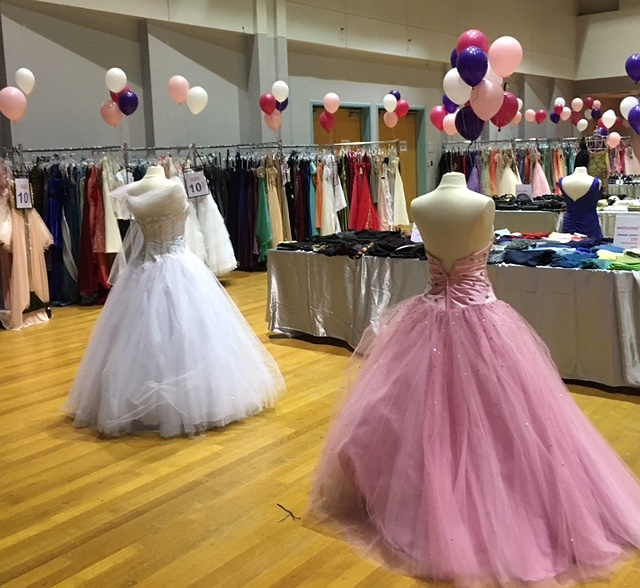The 2018 Prom Dress Drive. Your donation makes a difference!