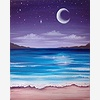 Paint Nite: The Beach At
