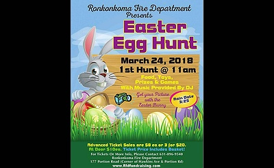 Ronkonkoma Fire Department's Easter Egg Hunt