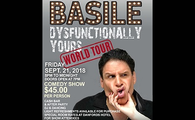 Comedy Show with Basile at The Waterview