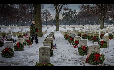 National Wreaths Across America Day at Long Island National Cemetery