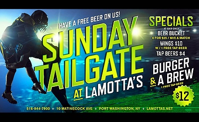 Sunday Tailgate at LaMotta's
