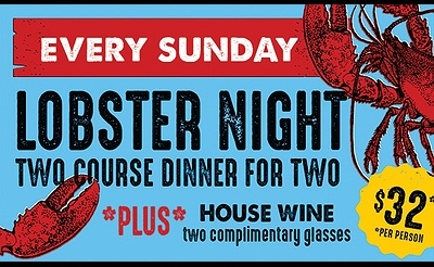 Lobster Night at LaMotta's