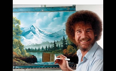 PAINT LIKE BOB ROSS  IN ONE DAY