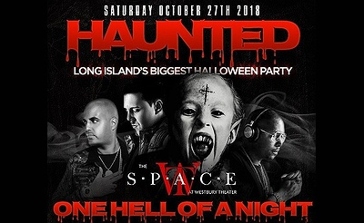 Long Island's #1 Halloween Costume Party at The Space Theater in Westbury