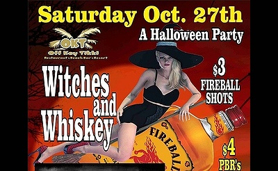 Witches and Whiskey Halloween Party!