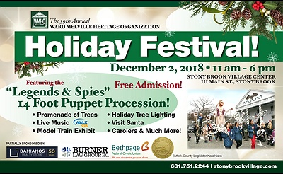 39th Annual Holiday Festival in Stony Brook Village