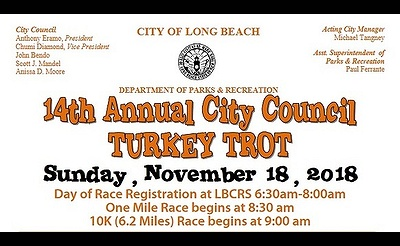 14th Annual Long Beach City Council Turkey Trot