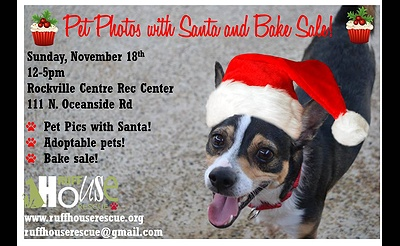 Pet Photo with Santa and Bake Sale