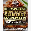 Wing Eating Competition
