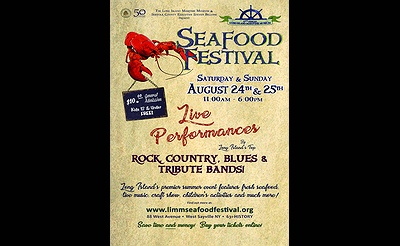 Long Island Maritime Museum's 27th Annual Seafood Festival