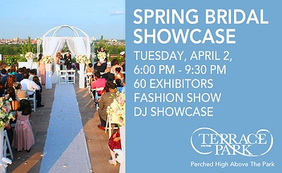Terrace on the Park's Spring Bridal Showcase
