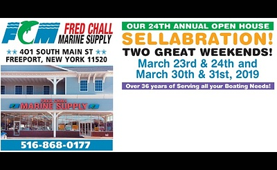 Fred Chall Marine Supply's 24th Annual Open House 'Sellabration'