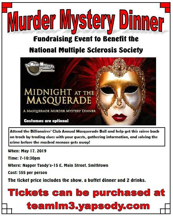 Best Murder Mystery Dinner Free: Murder Mystery Dinner Theater Fundraiser