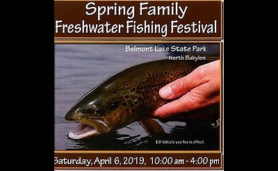 Spring Family Freshwater Fishing Festival at Belmont Lake State Park