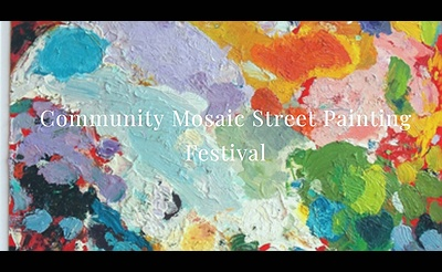 23rd Annual Community Mosaic Street Painting Festival