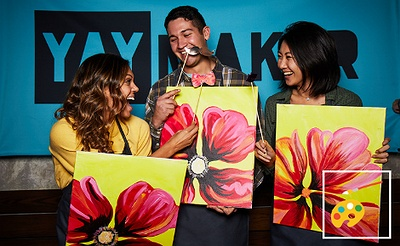 Paint Nite & Plant Nite by Yaymaker: Summer Events
